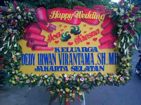 Jual Bunga Papan Ucapan Selamat Surabaya - 08123.5931.288