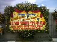 Jual Bunga Papan Wedding Surabaya - 08123.5931.288