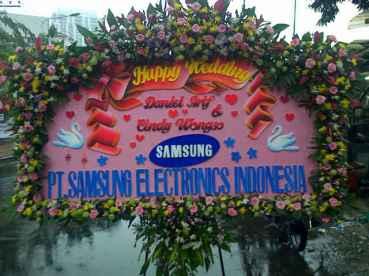 Jual Karangan Bunga Anniversary Surabaya - 08123.5931.288