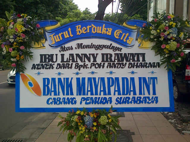 Jual Karangan Bunga Duka Cita Surabaya - 08123.5931.288