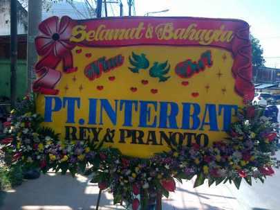 Jual Karangan Bunga Papan Murah Surabaya - 08123.5931.288