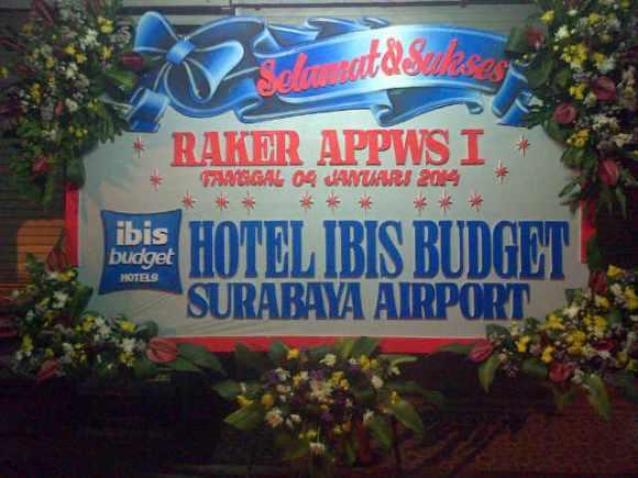 Jual Karangan Bunga Papan Surabaya - 08123.5931.288
